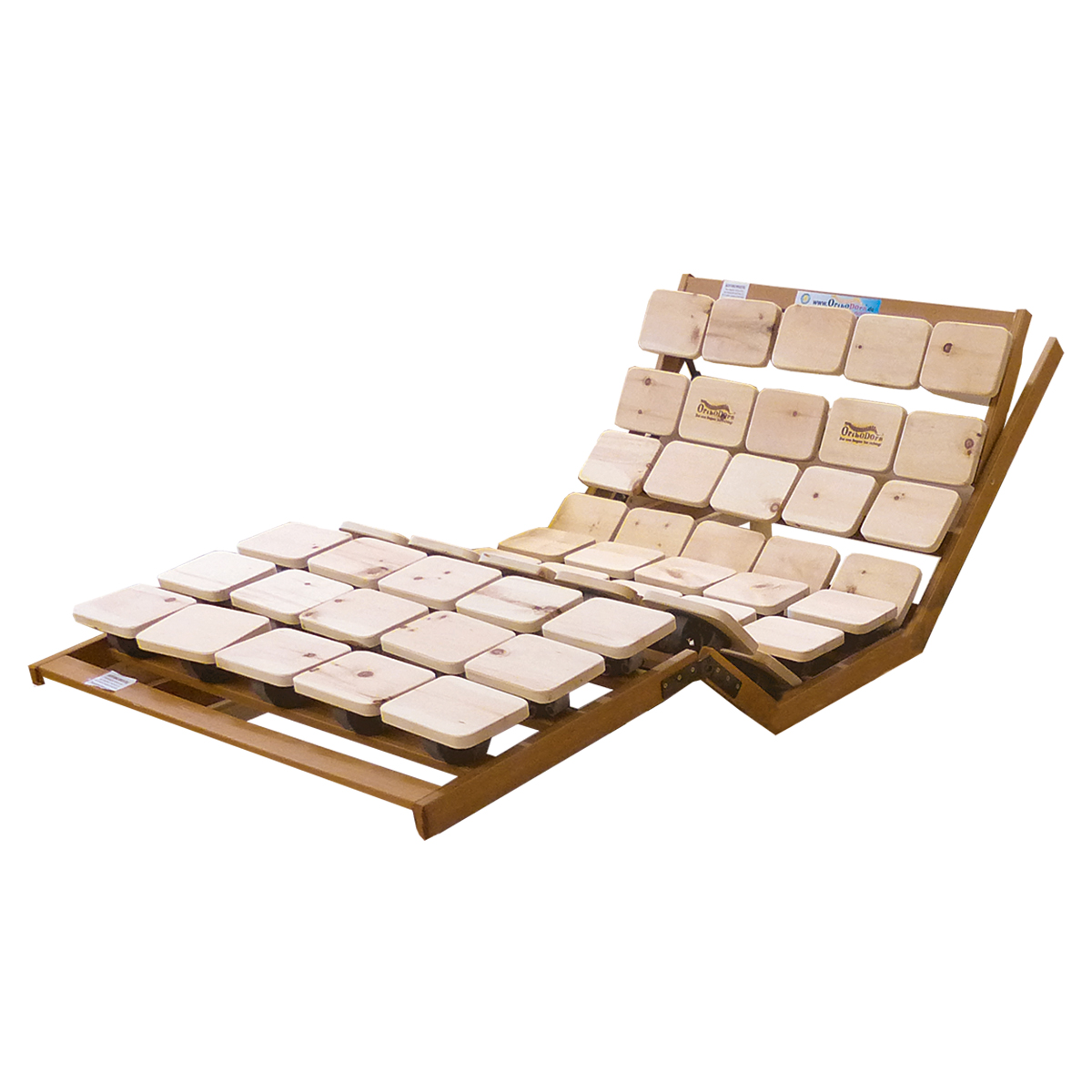 Zirbenholz Lattenrost / Tellerrost elektrisch verstellbar